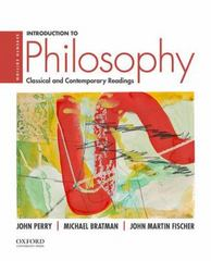 Introduction to Philosophy 7th Edition 9780190200237 0190200235
