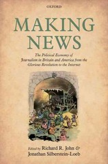 Making News 1st Edition 9780191663741 0191663743