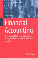 Financial Accounting 1st Edition 9783319187235 3319187236