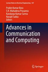 Advances in Communication and Computing 1st Edition 9788132224631 8132224639