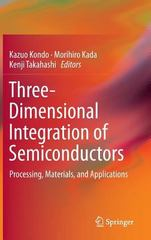 Three Dimensional Interconnects 1st Edition 9783319186740 3319186744