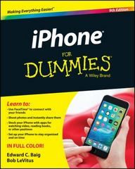 iPhone For Dummies 9th Edition 9781119137771 1119137772