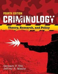 Criminology 4th Edition 9781284090925 1284090922