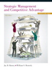 Strategic Management and Competitive Advantage Plus 2014 MyManagementLab with Pearson eText -- Access Card Package 5th Edition 9780133254150 0133254151