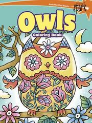 Spark - Owls Coloring Book 1st Edition 9780486802114 0486802116