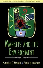 Markets and the Environment 2nd Edition 9781610916073 1610916077