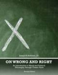 On Wrong and Right 2nd Edition 9781465276100 1465276106