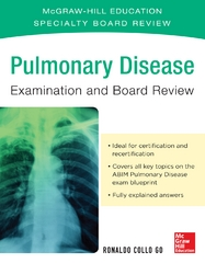 Pulmonary Disease Examination and Board Review 1st Edition 9780071845298 0071845291
