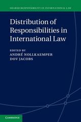 Distribution of Responsibilities in International Law 1st Edition 9781107107083 1107107083