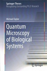 Quantum Microscopy of Biological Systems 1st Edition 9783319189376 3319189379