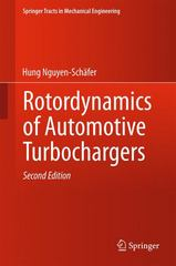 Rotordynamics of Automotive Turbochargers 2nd Edition 9783319176437 3319176439