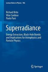 Superradiance 1st Edition 9783319189994 3319189999