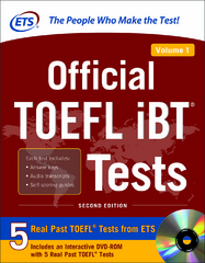 Official TOEFL iBT Tests Volume 1, 2nd Edition 2nd Edition 9780071848459 0071848452