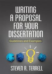 Writing a Proposal for Your Dissertation 1st Edition 9781462523030 146252303X