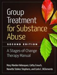 Group Treatment for Substance Abuse 2nd Edition 9781462523405 1462523404