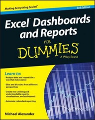 Excel Dashboards and Reports for Dummies 3rd Edition 9781119076766 1119076765