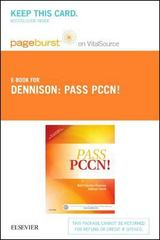 Pass PCCN! 1st Edition 9780323077286 0323077285