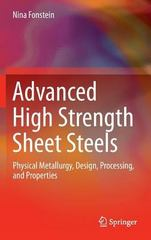 Advanced High Strength Sheet Steels 1st Edition 9783319191652 3319191659