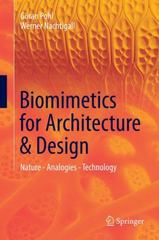 Biomimetics for Architecture and Design 1st Edition 9783319191195 3319191195