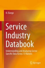 Service Industry Databook 1st Edition 9783319191119 331919111X