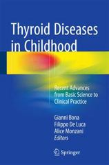 Thyroid Diseases in Childhood 1st Edition 9783319192130 3319192132