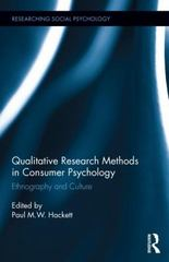 Qualitative Research Methods in Consumer Psychology 1st Edition 9781317690283 1317690281