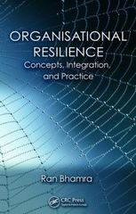 Organisational Resilience 1st Edition 9781482233568 1482233568