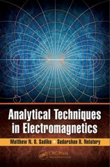 Analytical Techniques in Electromagnetics 1st Edition 9781498709019 149870901X