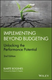 Implementing Beyond Budgeting 2nd Edition 9781119152477 111915247X