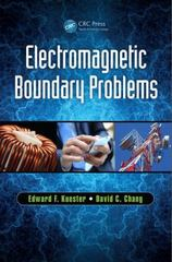 Electromagnetic Boundary Problems 1st Edition 9781498730266 1498730264
