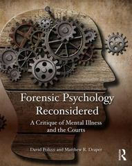 Forensic Psychology Reconsidered 1st Edition 9780323263122 0323263127