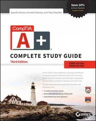 CompTIA A+ Complete Study Guide 3rd Edition 9781119137856 1119137853