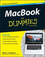 MacBook For Dummies 6th Edition 9781119137801 1119137802