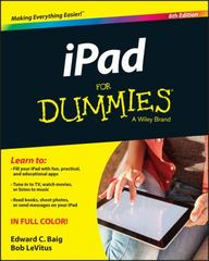 iPad For Dummies 8th Edition 9781119137788 1119137780