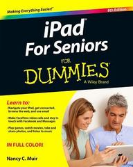 iPad For Seniors For Dummies 8th Edition 9781119137795 1119137799