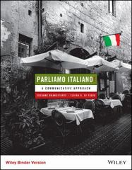 Parliamo italiano! 5th Edition 9781118800324 111880032X