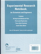 Experimental Research Notebook For Scientists And Engineers 0 9780763701635 0763701637