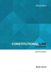 Constitutional Law Guidebook 2nd Edition 9780195594003 0195594002