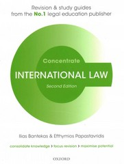 International Law Concentrate 2nd Edition 9780198729679 0198729677