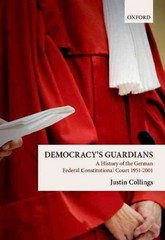 Democracy's Guardians 1st Edition 9780191067624 0191067628