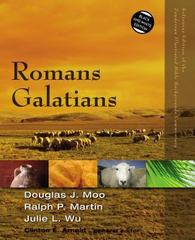Romans, Galatians 1st Edition 9780310522959 0310522951