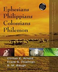 Ephesians, Philippians, Colossians, Philemon 1st Edition 9780310523055 0310523052