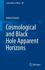 Cosmological and Black Hole Apparent Horizons 1st Edition 9783319192406 331919240X