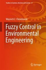Fuzzy Control in Environmental Engineering 1st Edition 9783319192611 3319192612