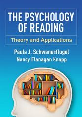 The Psychology of Reading 1st Edition 9781462523511 146252351X