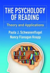 The Psychology of Reading 1st Edition 9781462523979 1462523978