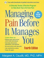 Managing Pain Before It Manages You 4th Edition 9781462522774 1462522777