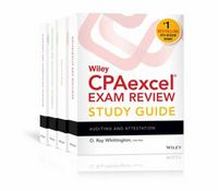 Wiley CPAexcel Exam Review 2016 Study Guide January: Set 15th Edition 9781119119999 1119119995