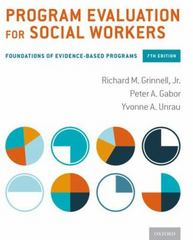 Program Evaluation for Social Workers 7th Edition 9780190227319 0190227311