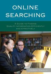 Online Searching 1st Edition 9781442238862 1442238860